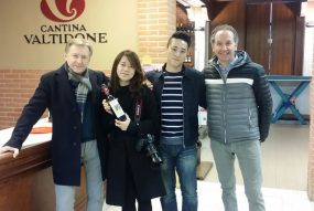 Dalla Corea Per Conoscere La Valtidone E I Suoi Vini