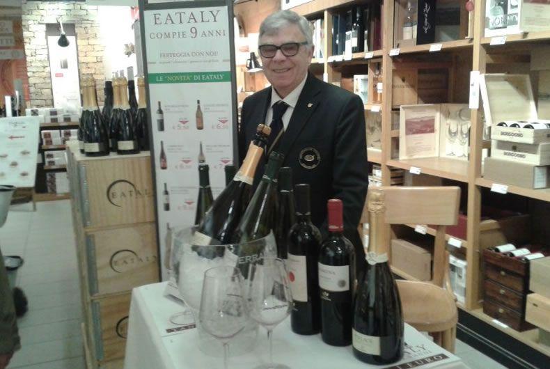 i nostri vini a eataly a torino