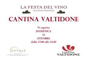 Manifesto La Festa Del Vino Di Cantina Valtidone Di Domenica 18 Ottobre