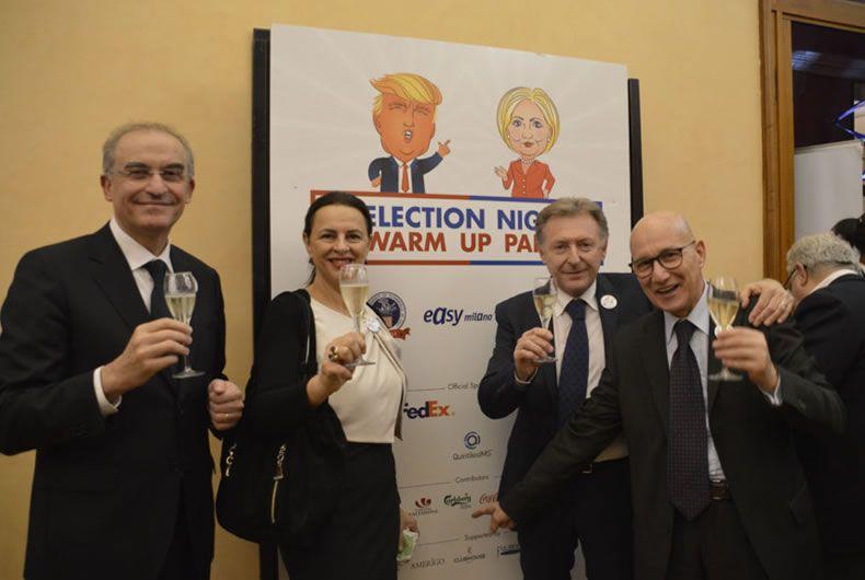 I vini di Cantina Valtidone hanno accompagnato l'attesa del nuovo Presidente USA
