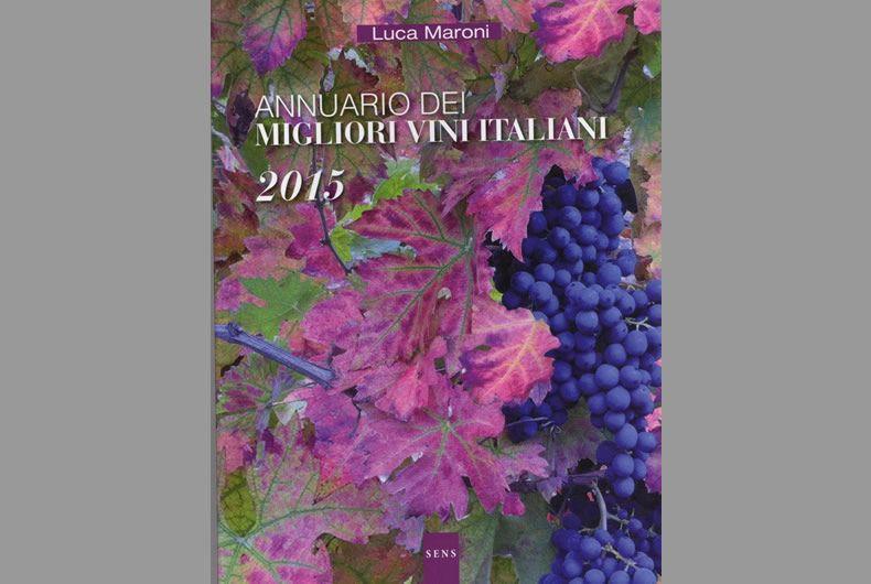copertina annuario dei migliori vini italiani di luca maroni
