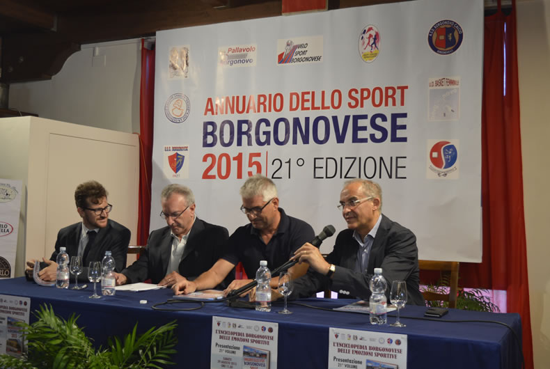 Annuario dello sport borgonovese 2015, conferenza