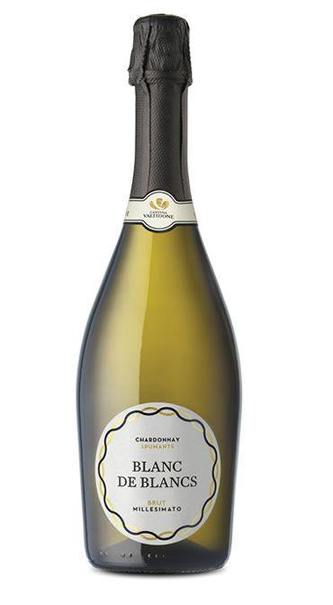 """""""Blanc de Blancs""""  Millesimato Chardonnay Spumante brut"""