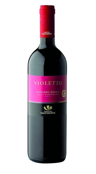 """""""Violetto"""" Bonarda dolce frizz. doc"""