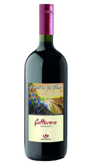 vino gutturnio frizzante doc vigneti in val tidone, foto bottiglia