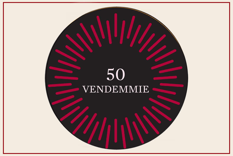 linea 50 vendemmie