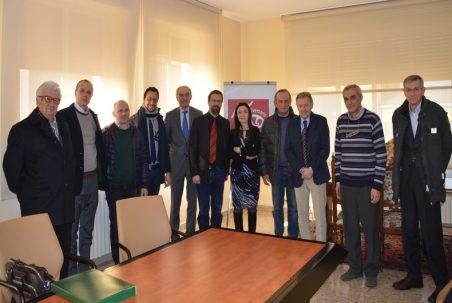 Fedagri-Confcooperative In Visita A Cantina Valtidone