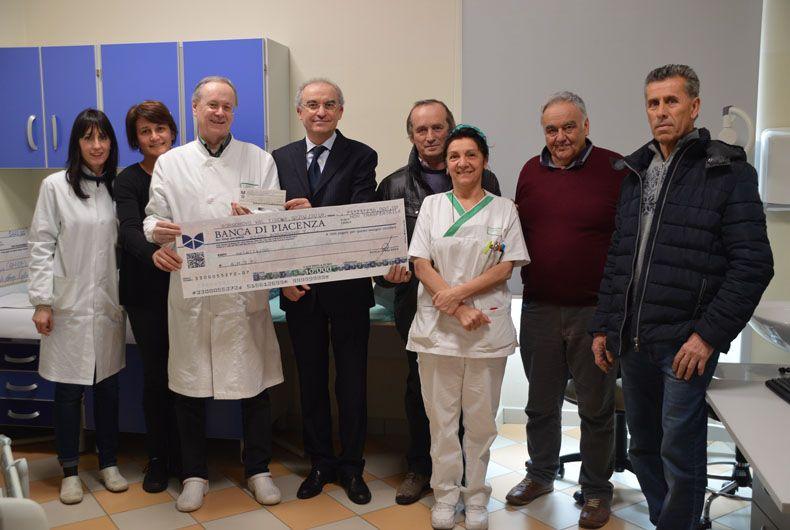 Sei mila euro dal Picchio Rosso per la ricerca sul cancro