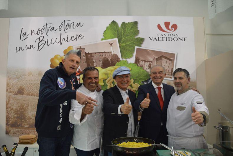 Stand Vinitaly Lucchetta Sardella